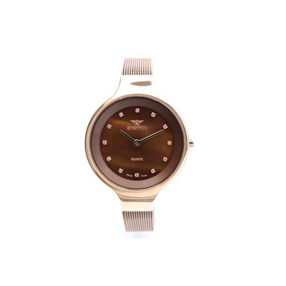 Creative Women''s Brown Watch - Mesh Band S11103L-8