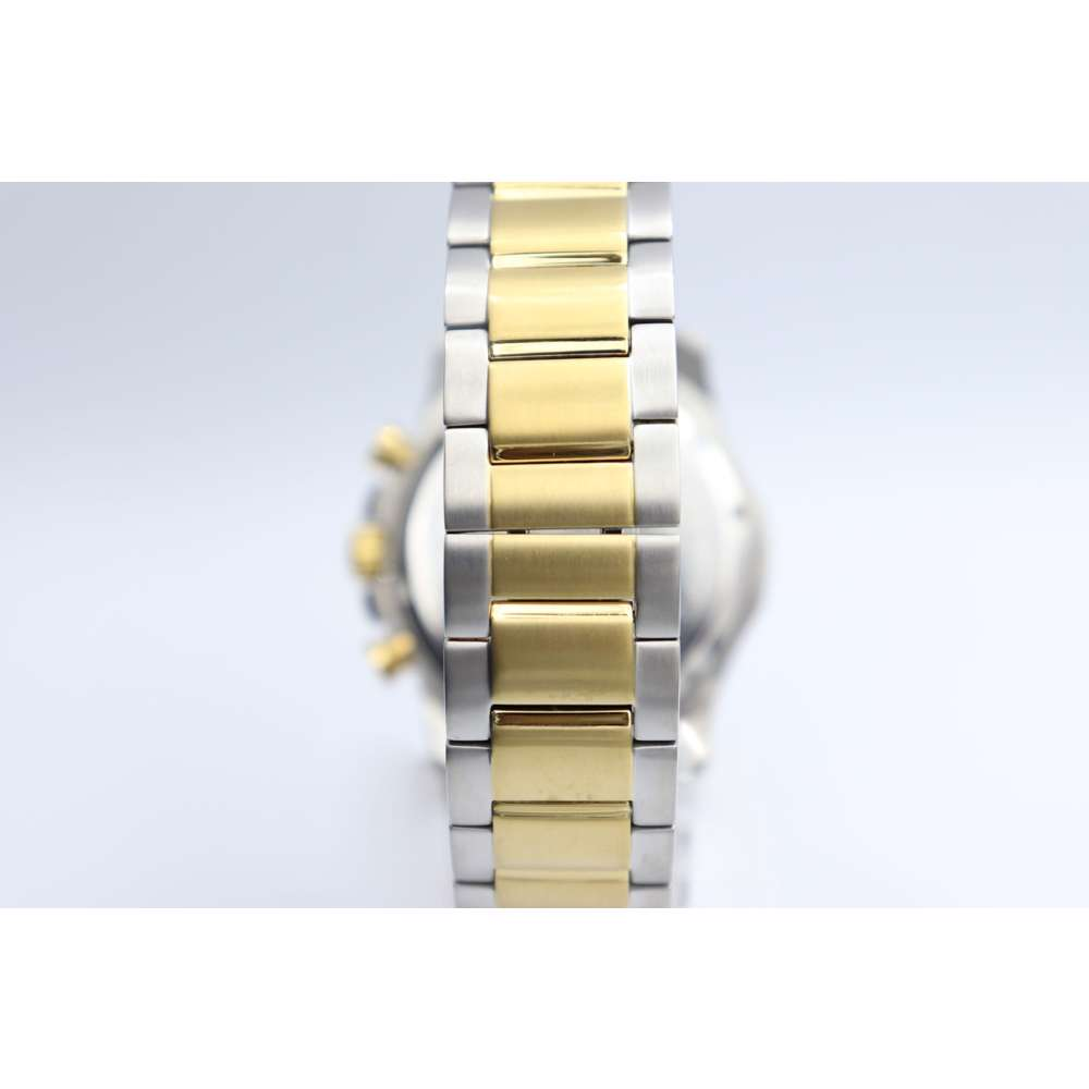 Multidimensional Men''s Two Tone Watch - Stainless Steel S12497M-2