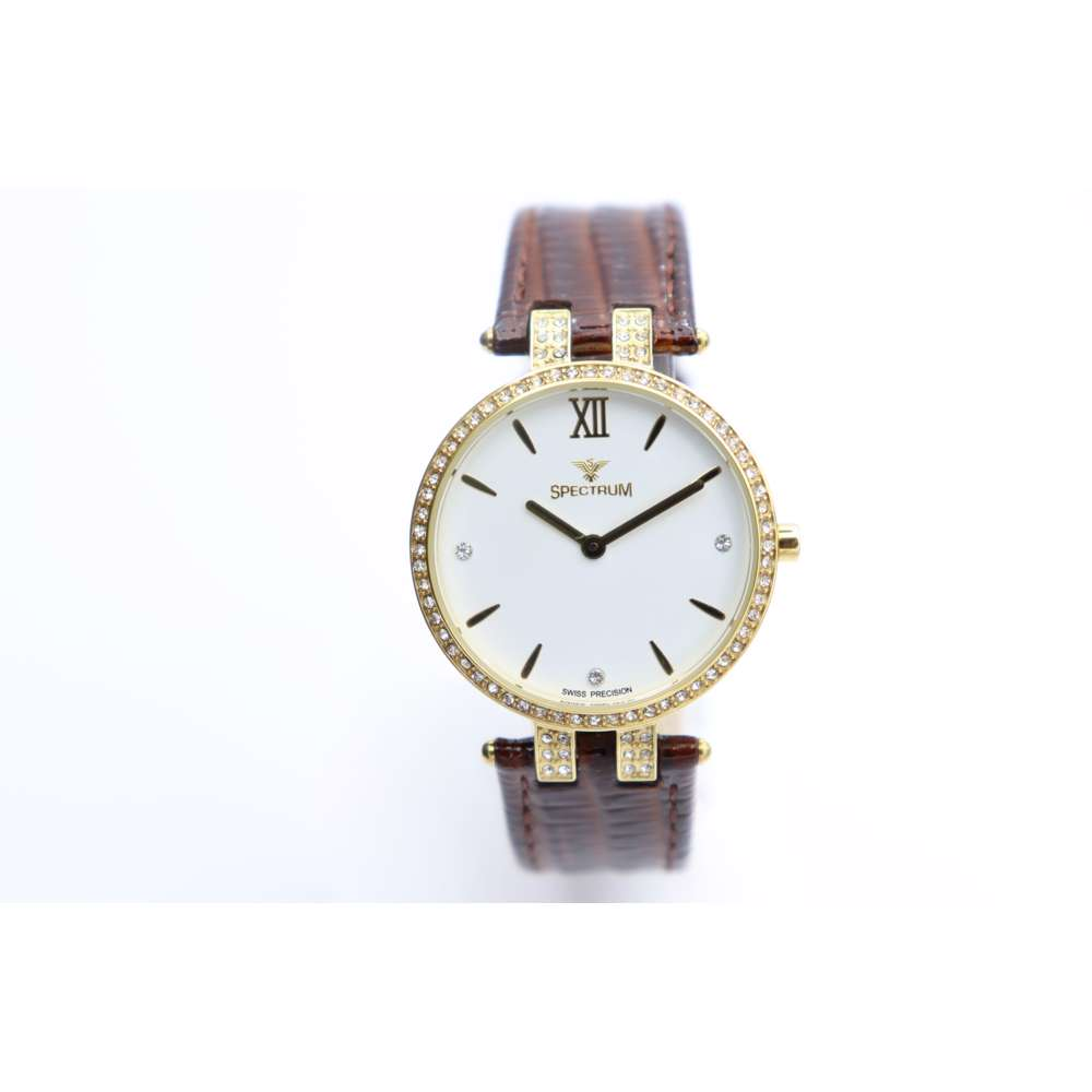 Creative Women''s Brown Watch - Leather S12504L-4