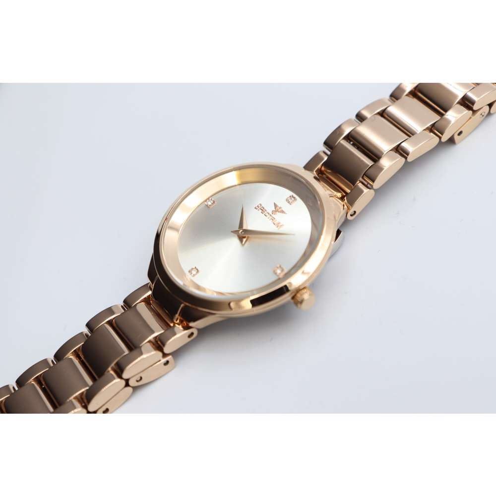 Truth Seeker Women''s Rose Gold Watch - Stainless Steel S25168L-7
