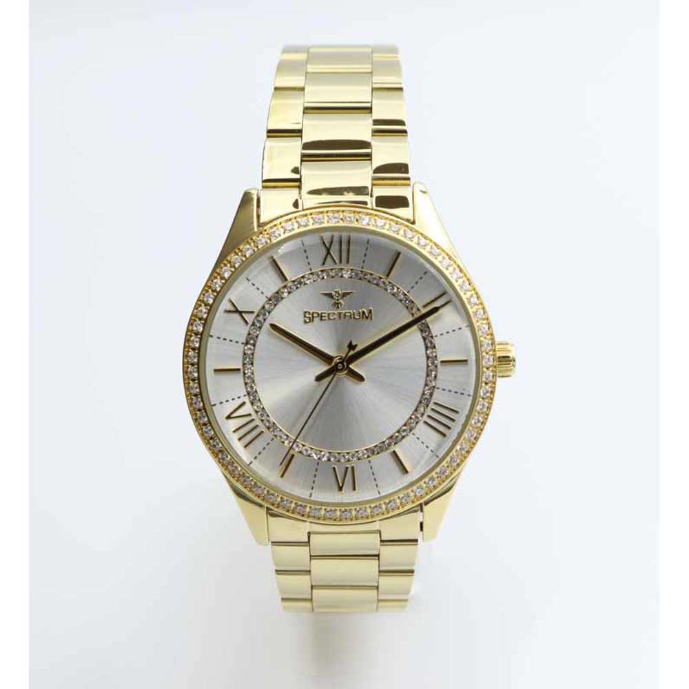 Challenger Women''s Gold Watch - Stainless Steel S25169L-2