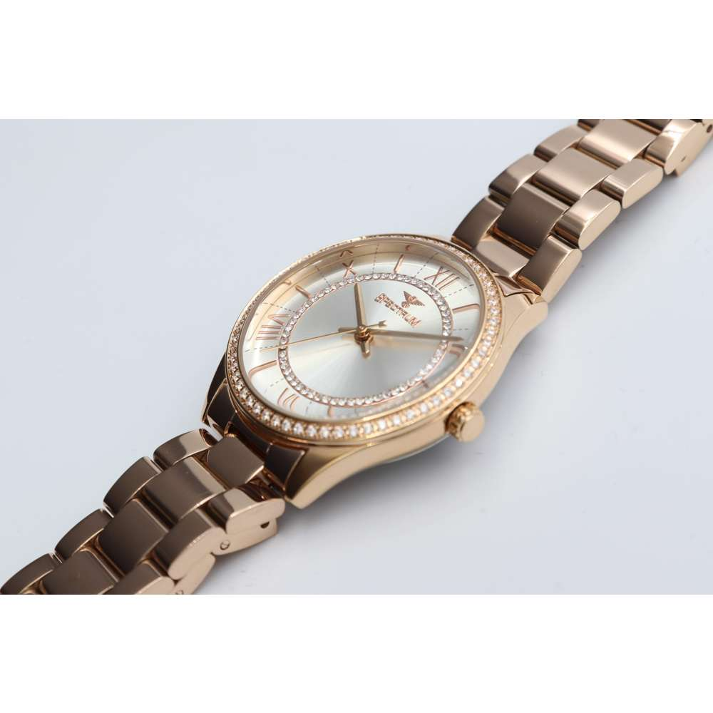 Challenger Women''s Rose Gold Watch - Stainless Steel S25169L-7