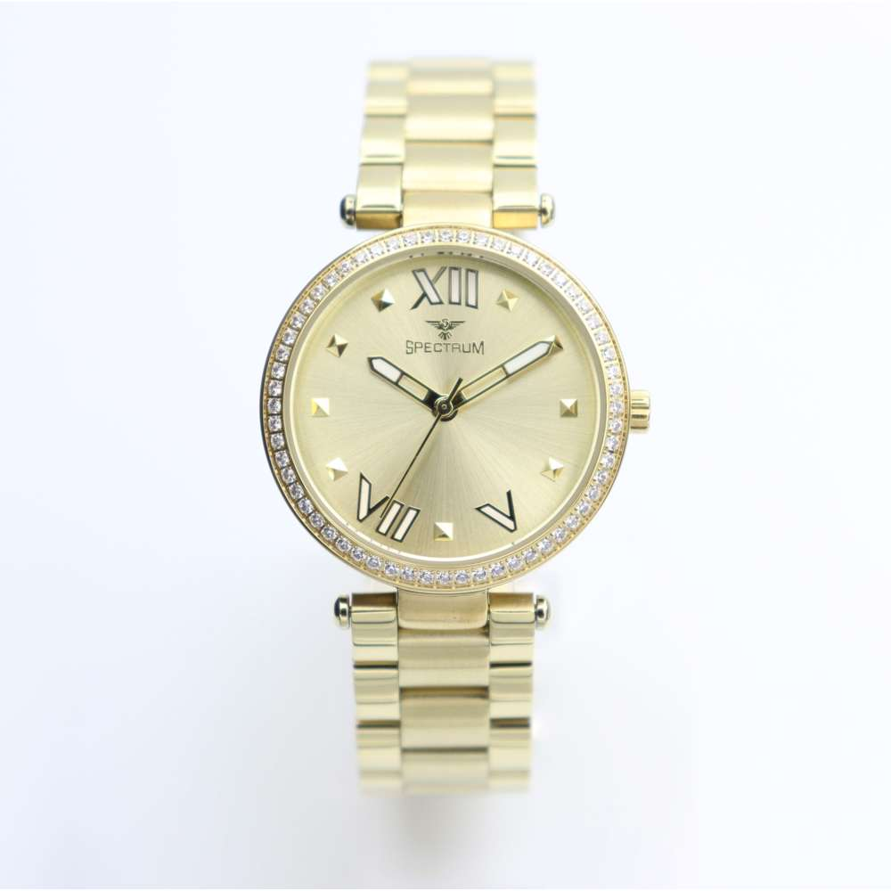 Creative Women''s Gold Watch - Stainless Steel S25171L-1