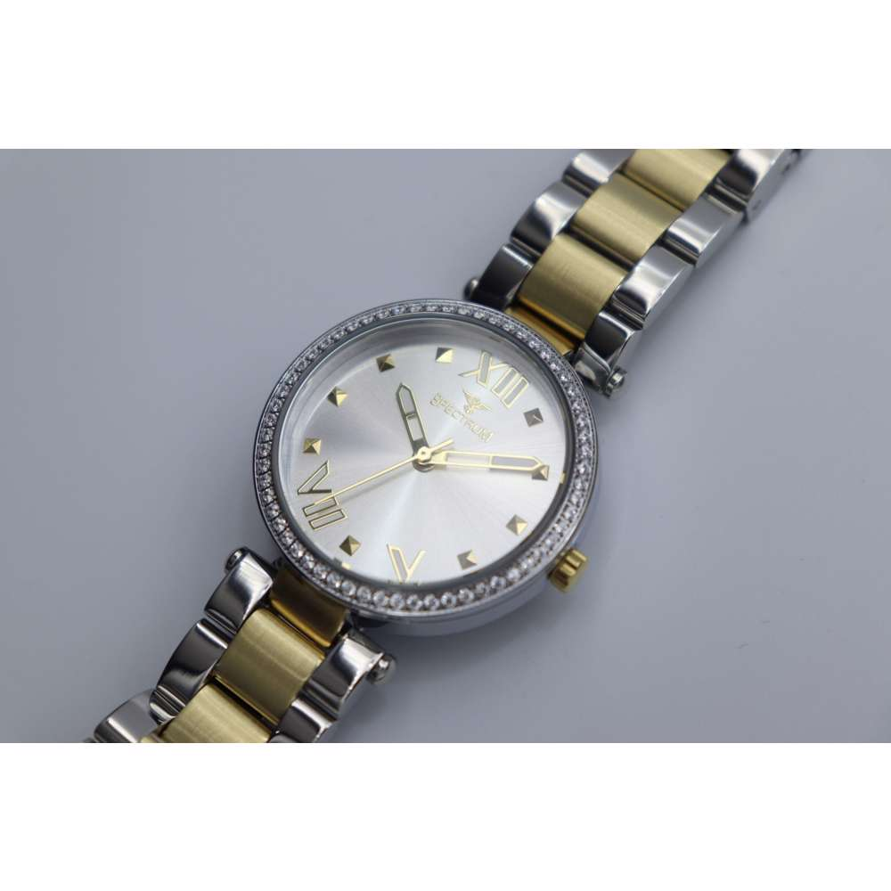 Creative Women''s Two Tone Watch - Stainless Steel S25171L-3