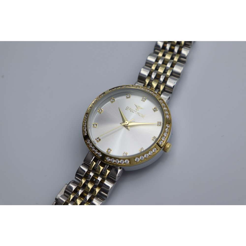 Creative Women''s Two Tone Watch - Stainless Steel S25172L-3