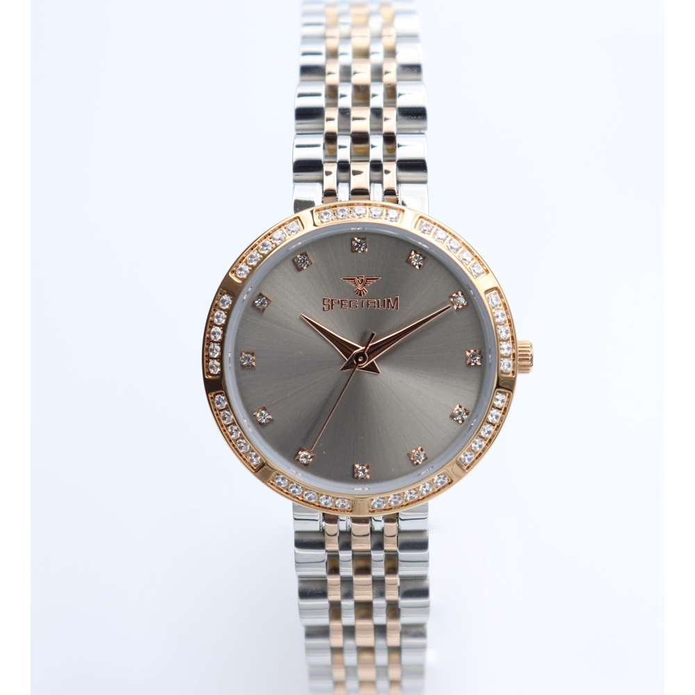 Creative Women''s Two Tone Rose Watch - Stainless Steel S25172L-6