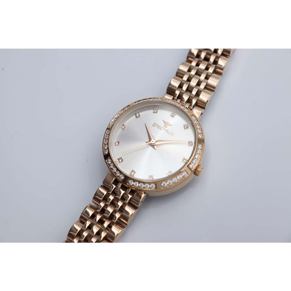 Creative Women''s Rose Gold Watch - Stainless Steel S25172L-7