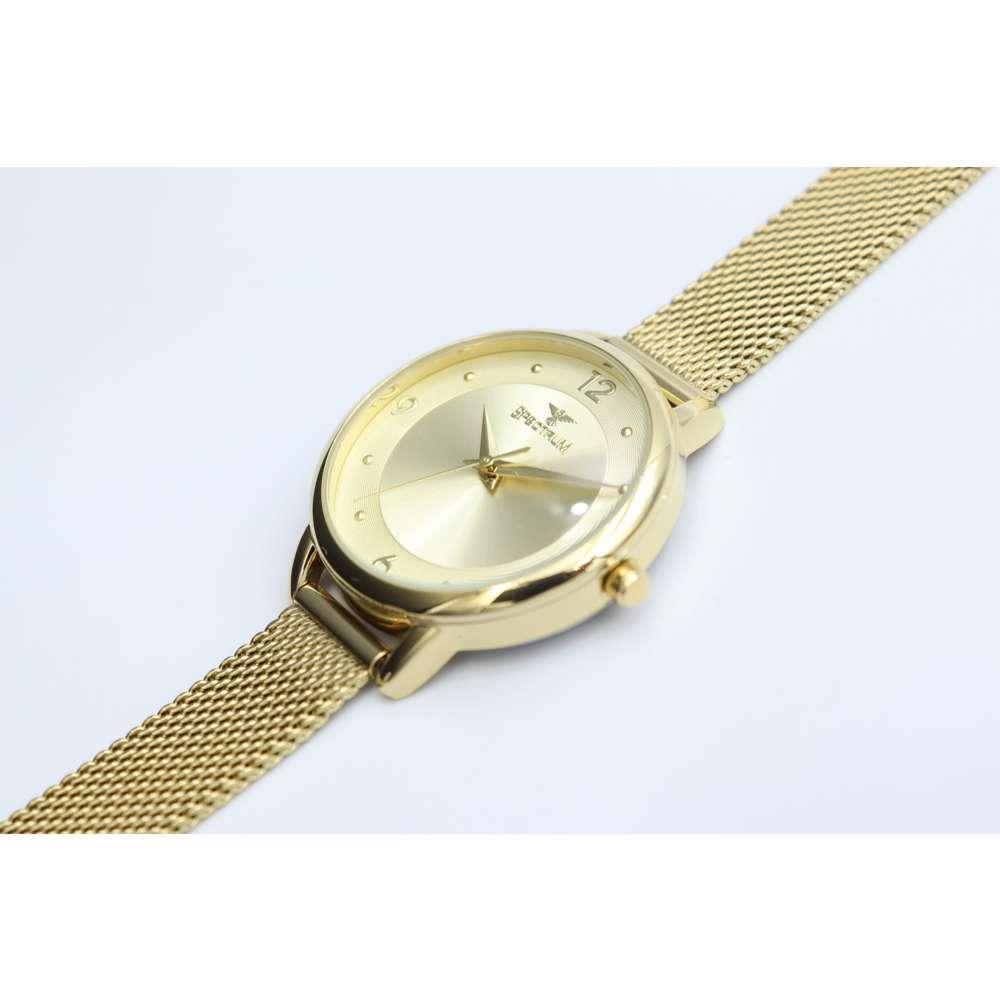 truth Seeker Women''s Gold Watch - Mesh Band S25176L-1