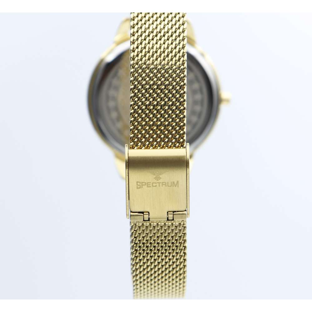 truth Seeker Women''s Gold Watch - Mesh Band S25176L-2