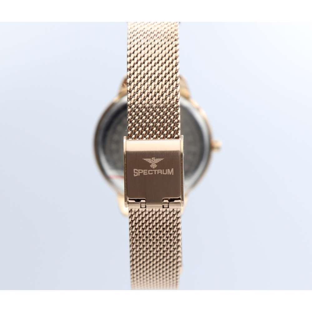 truth Seeker Women''s Rose Gold Watch Set - Mesh Band S25176L-4B