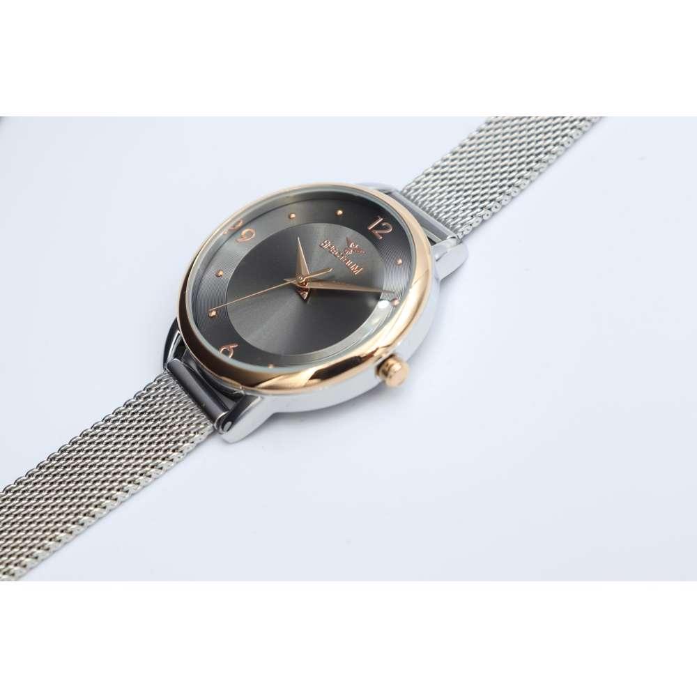 truth Seeker Women''s Silver Watch - Mesh Band S25176L-7