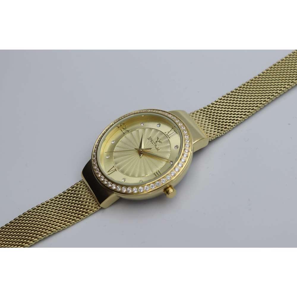 Creative Women''s Gold Watch - Mesh Band S25177L-1