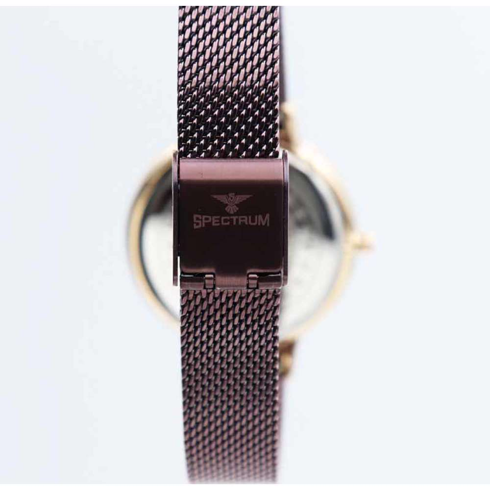 Creative Women''s Brown Watch - Mesh Band S25177L-3