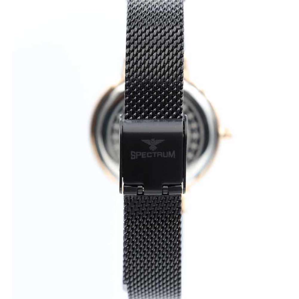 Creative Women''s Black Watch - Mesh Band S25177L-6