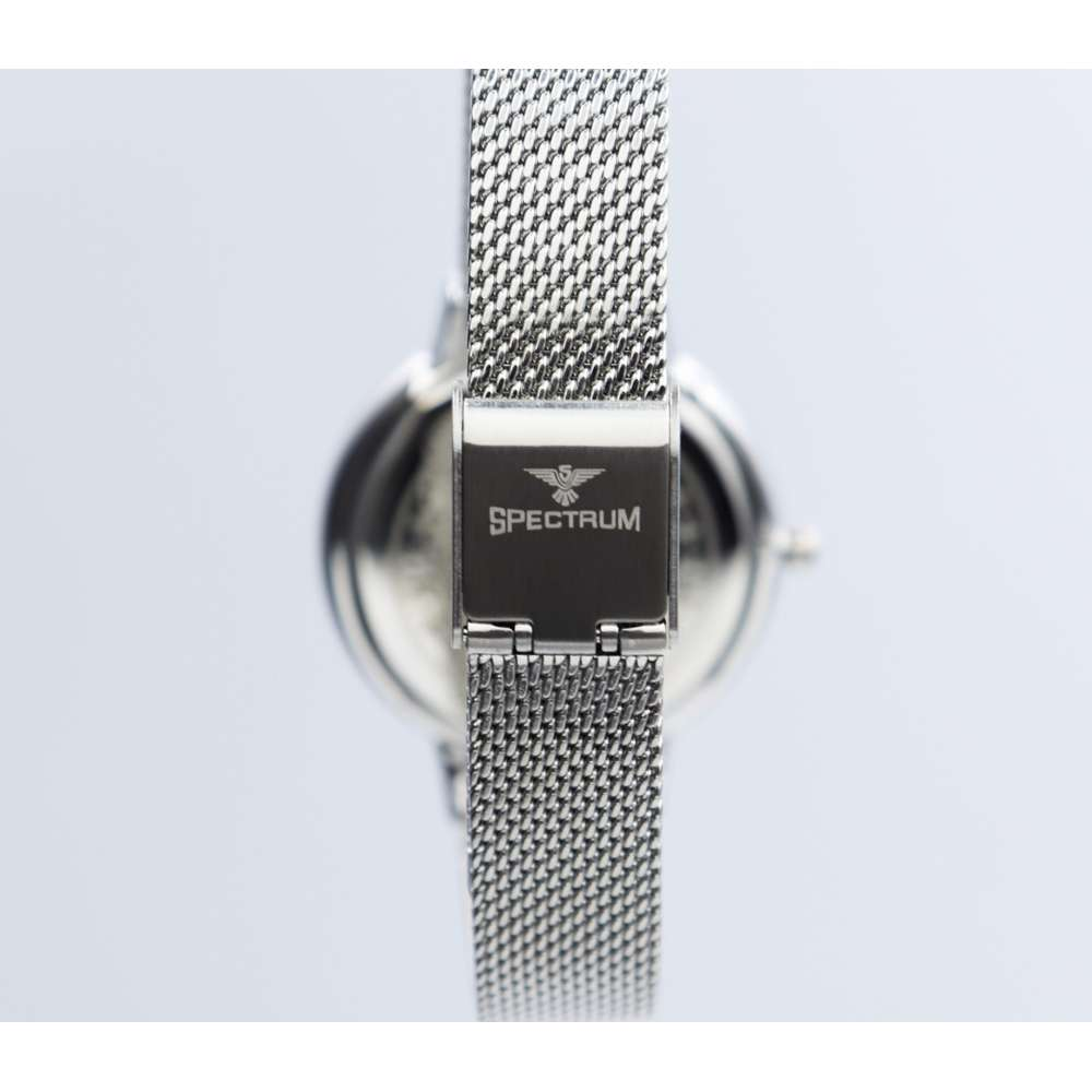Creative Women''s Silver Watch - Mesh Band S25177L-8