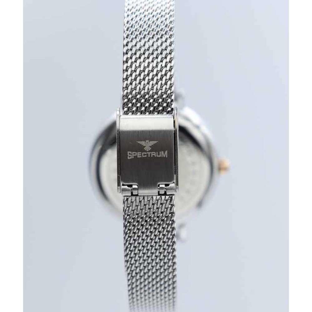 Creative Women''s Silver Watch - Mesh Band S25178L-7