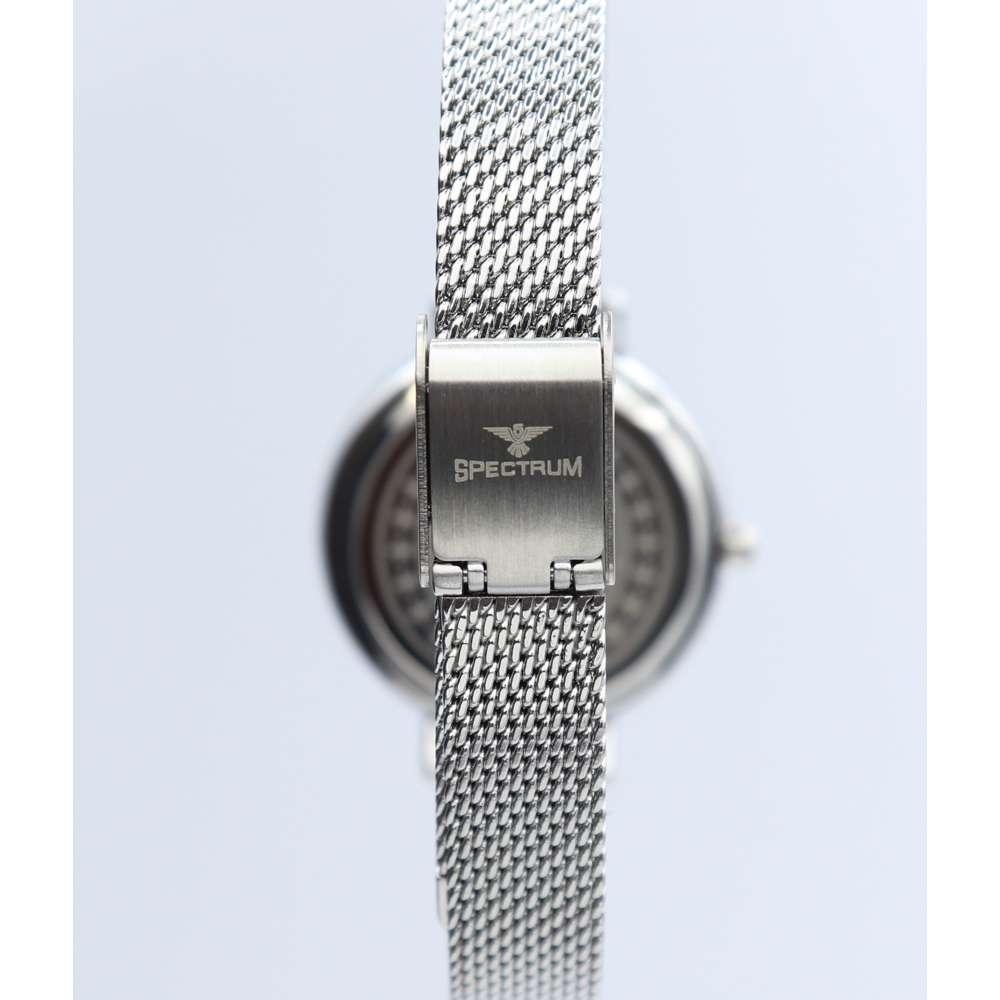 Creative Women''s Silver Watch Set - Mesh Band S25178L-8B