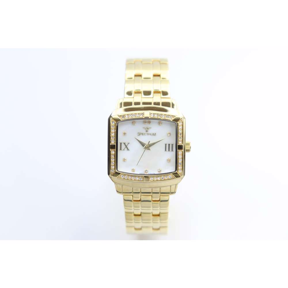 Creative Women''s Gold Watch - Stainless Steel S27010L-2
