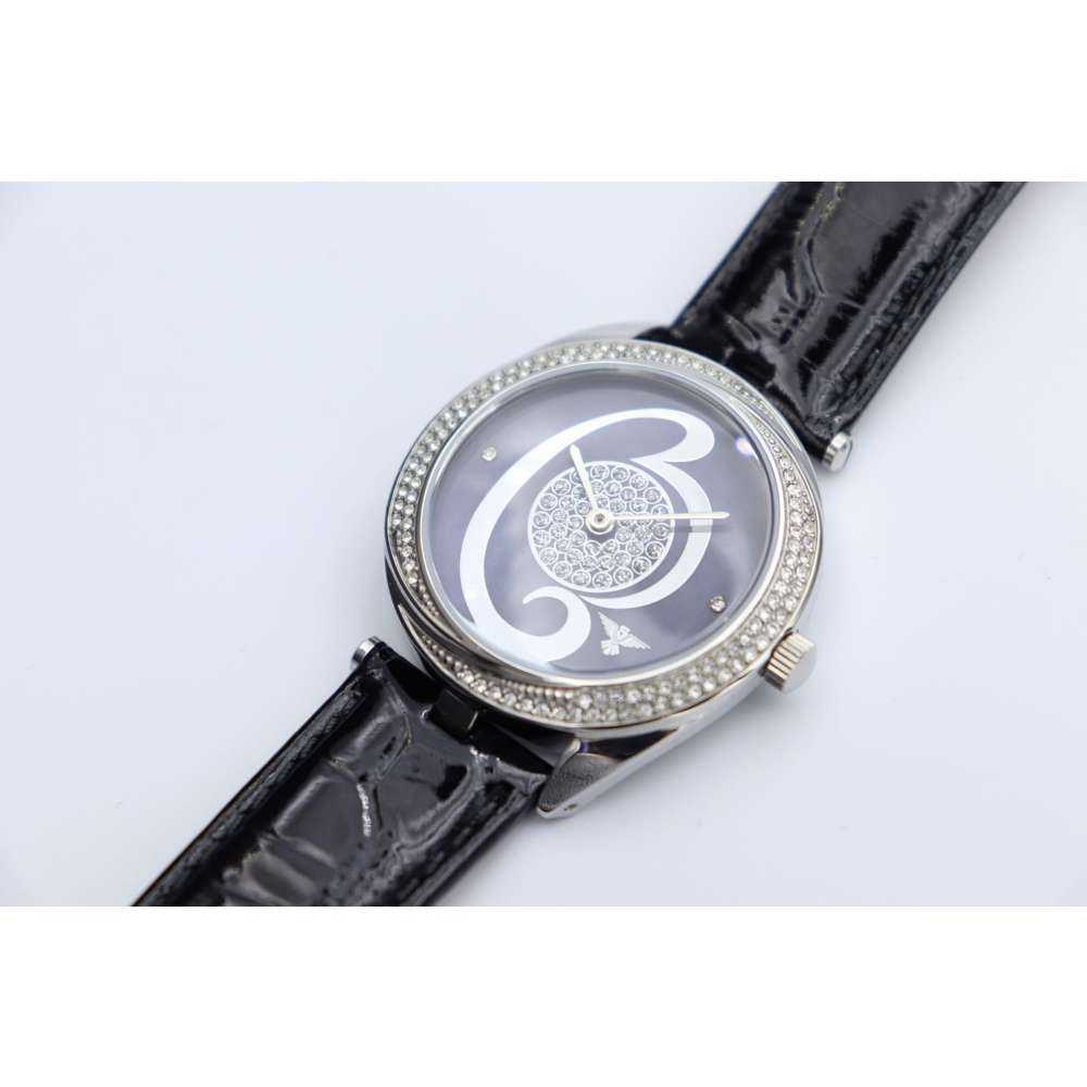 Creative Women''s Black Watch - Leather S27013L-4