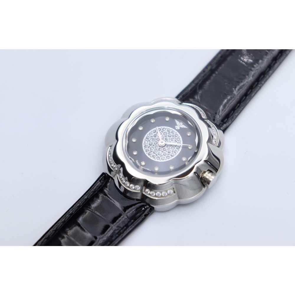Creative Women''s Black Watch - Leather S27014l-5