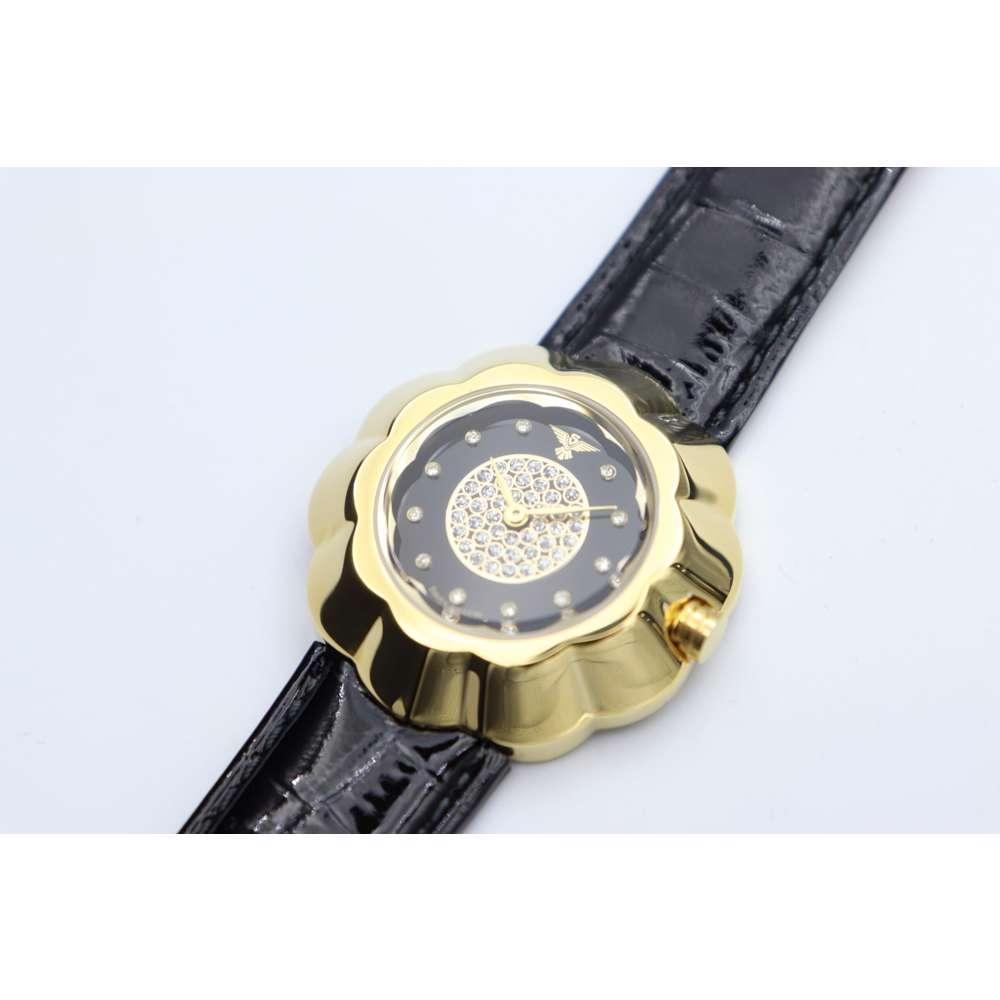 Creative Women''s Black Watch - Leather S27015L-2