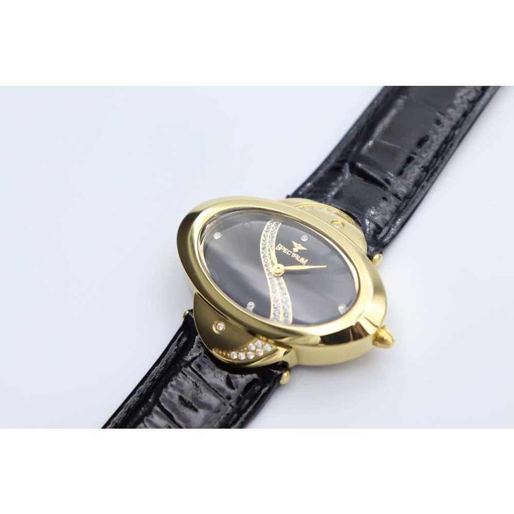 Creative Women''s Black Watch - Leather S27016L-3