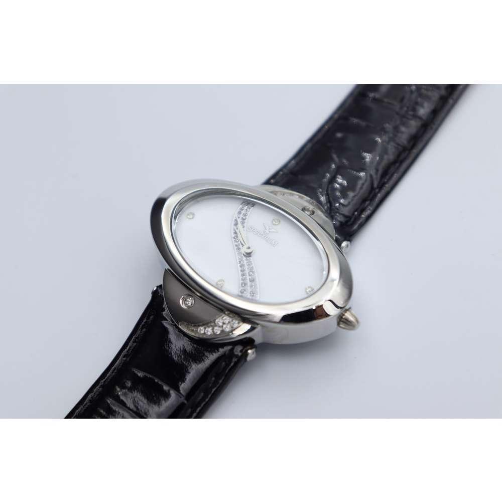 Creative Women''s Black Watch - Leather S27016L-4