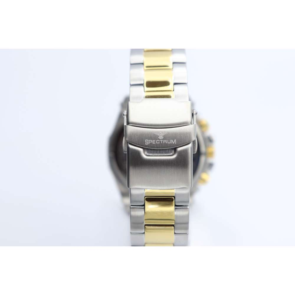 Multidimensional Men''s Two Tone Watch - Stainless Steel S82429M-1