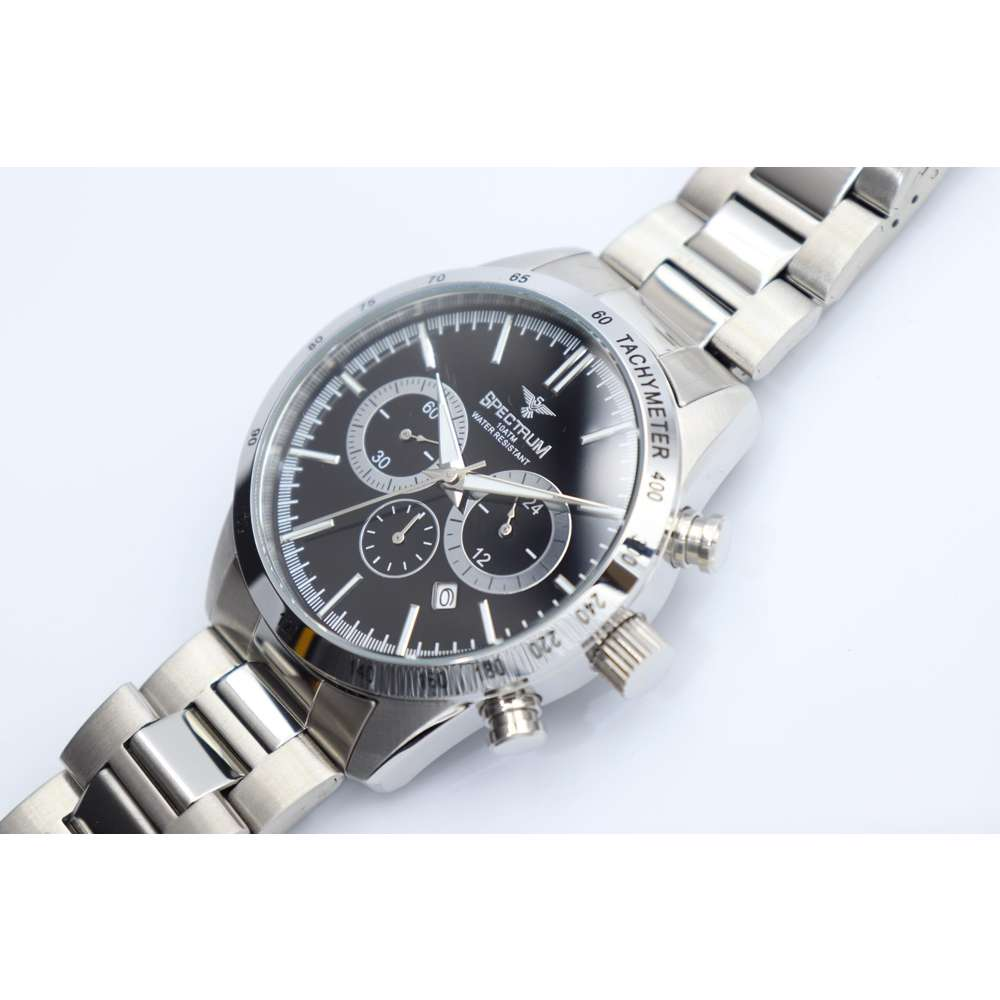 Multidimensional Men''s Silver Watch - Stainless Steel S82436M-5