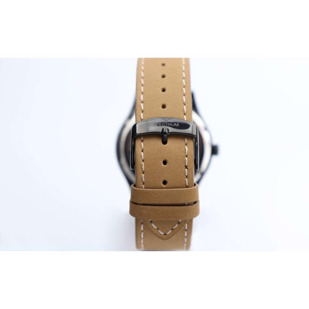 Explorer Men''s Light Brown Watch - Leather S82461M-1