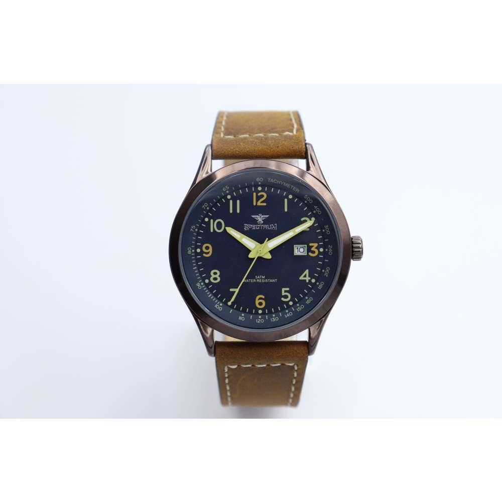 Explorer Men''s Brown Watch - Leather S82462M-2
