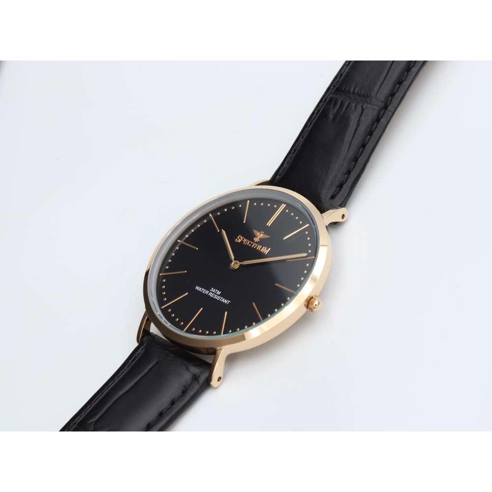 Truth Seeker Men''s Black Watch - Leather S82486M-2