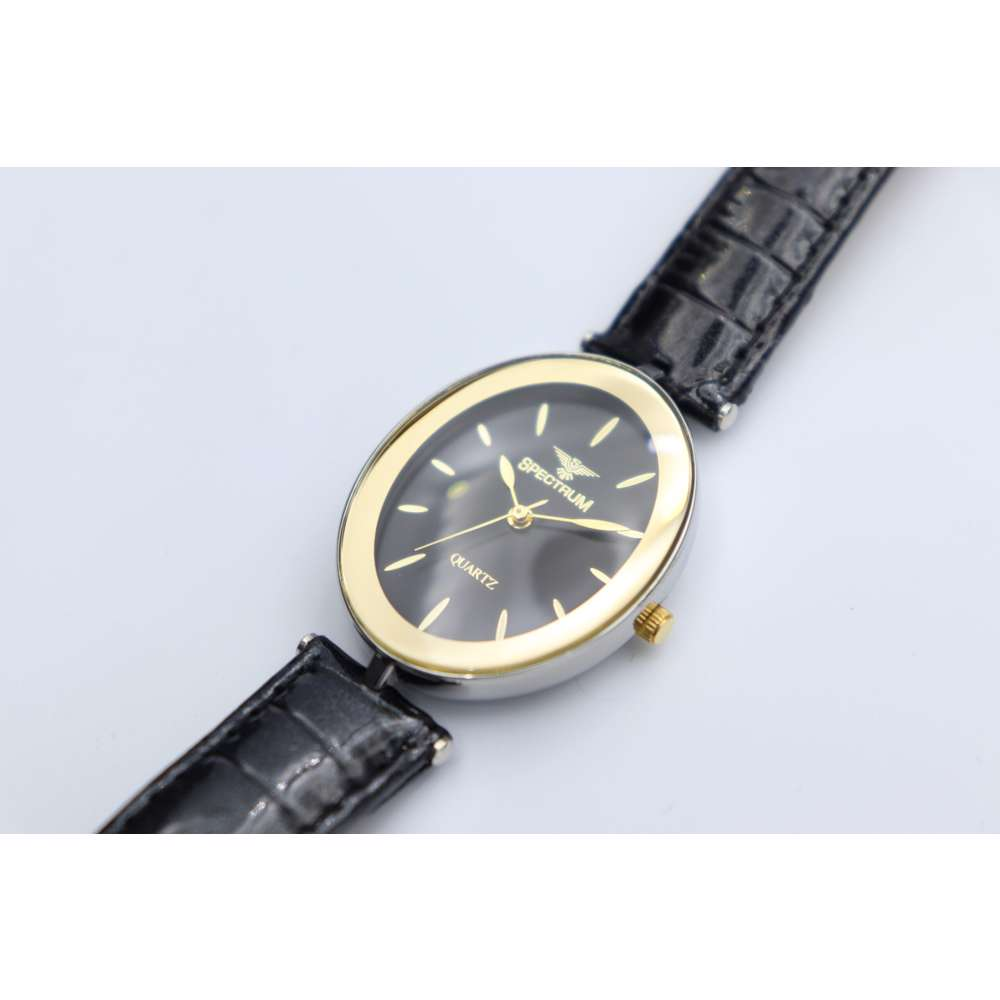 Creative Women''s Black Watch - Leather SP93250L-2