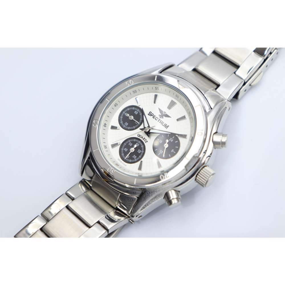 Multidimensional Men''s Silver Watch - Stainless Steel SP93304M-3