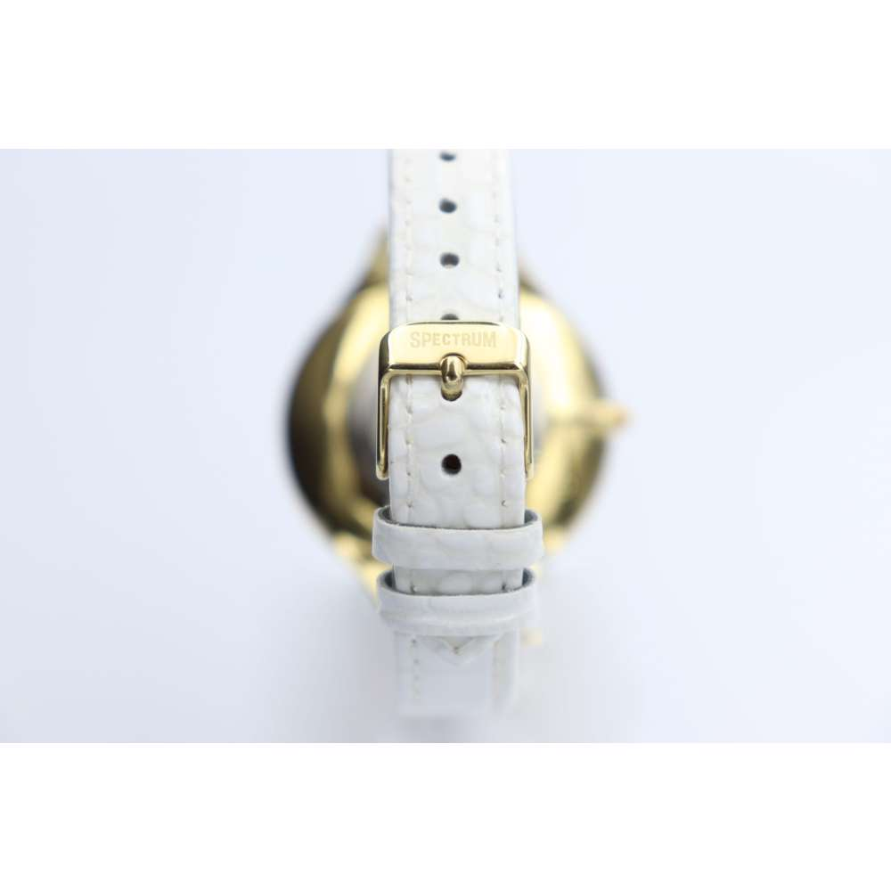 Creative Women''s White Watch - Leather SP93475L-2
