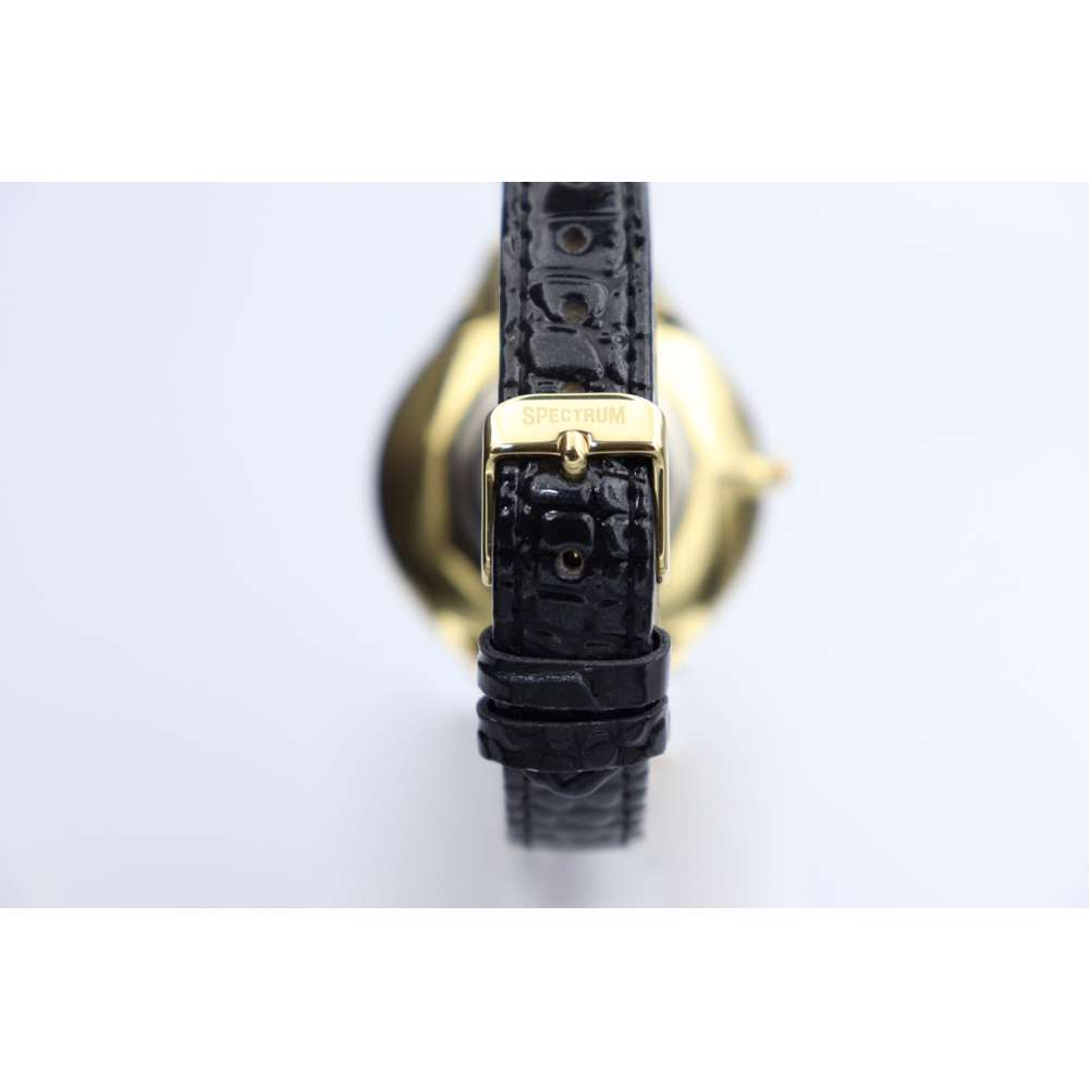 Creative Women''s Black Watch - Leather SP93475L-6