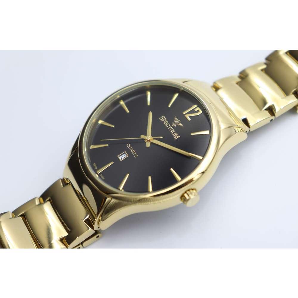 Challenger Men''s Gold Watch - Stainless Steel SP93487M-3