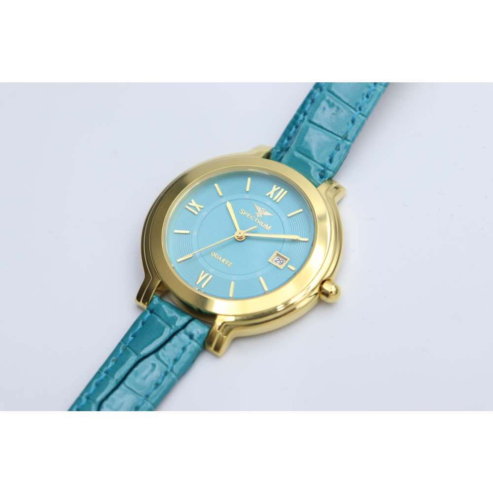 Creative Women''s Teal Watch - Leather SP93505L-3