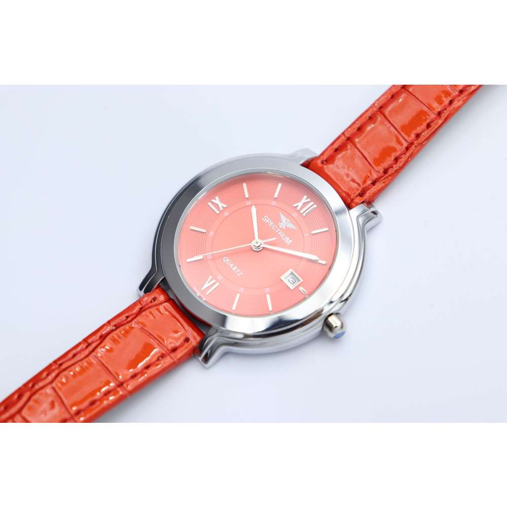 Creative Women''s Red Watch - Leather SP93505L-5