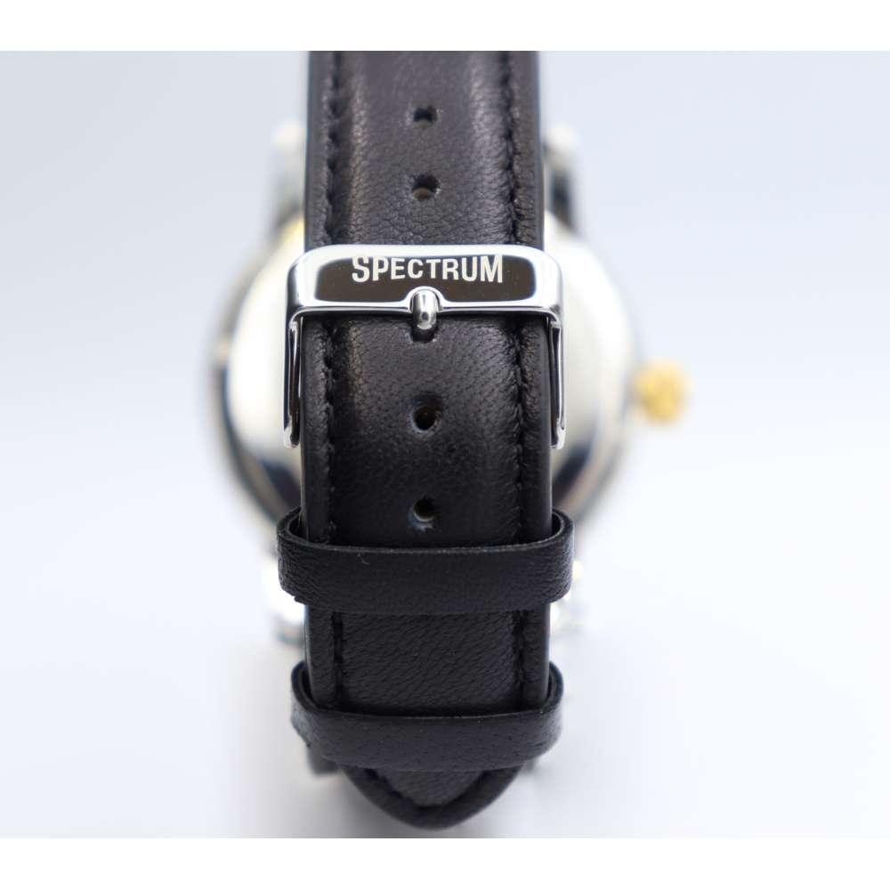 Creative Men''s Black Watch - Leather SP93620M-3