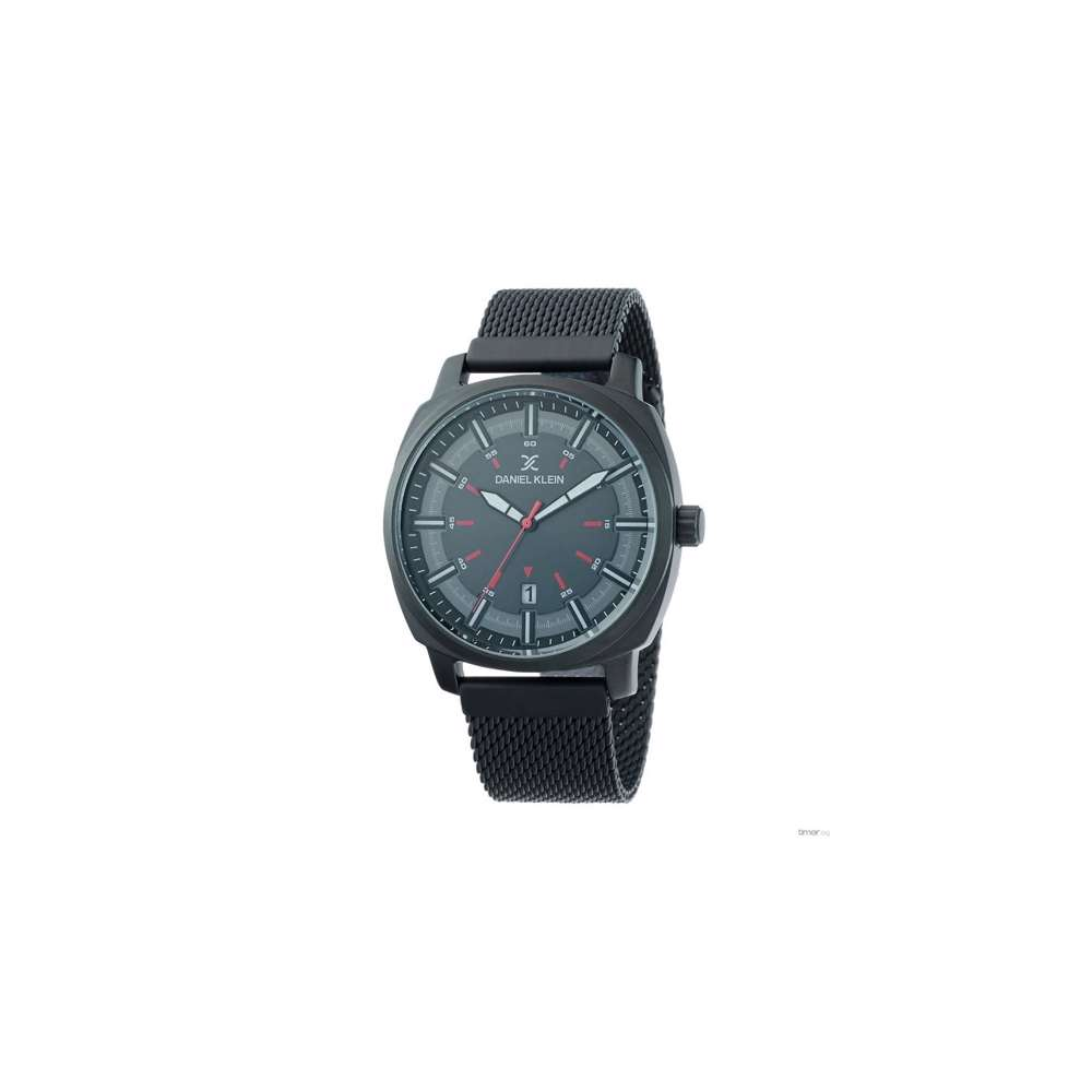 Mesh Band Mens''s Black Watch - DK.1.12257-2