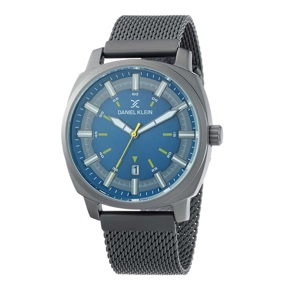 Mesh Band Mens''s Grey Watch - DK.1.12257-6