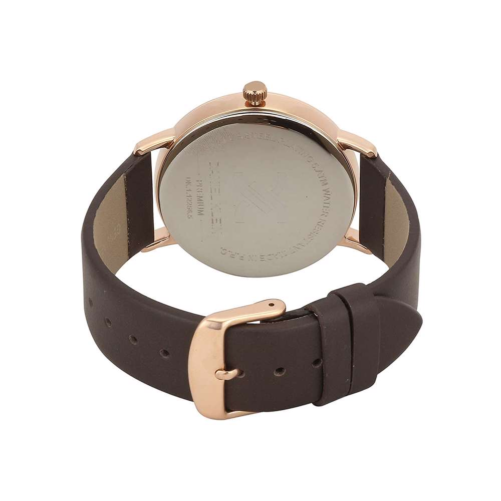 Leather Mens''s Brown Watch - DK.1.12258-5