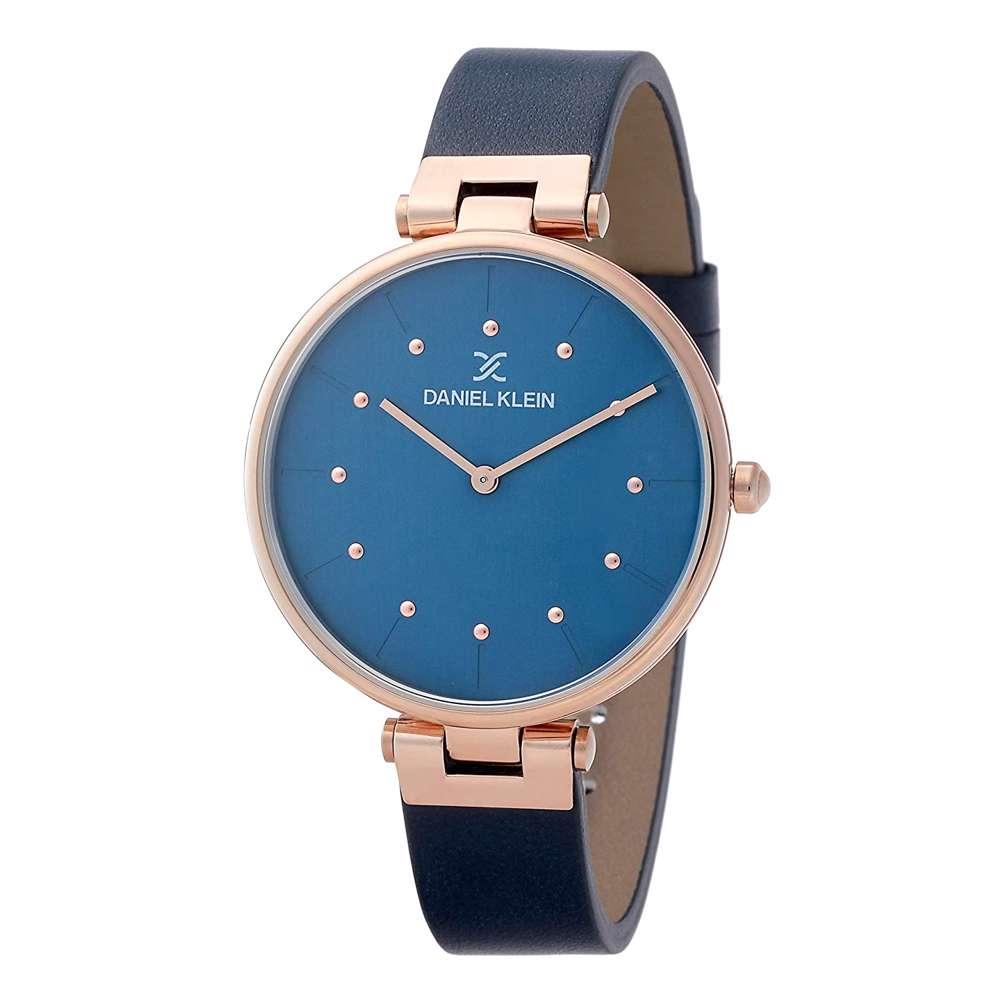 Leather Womens''s Blue Watch - DK.1.12260-3