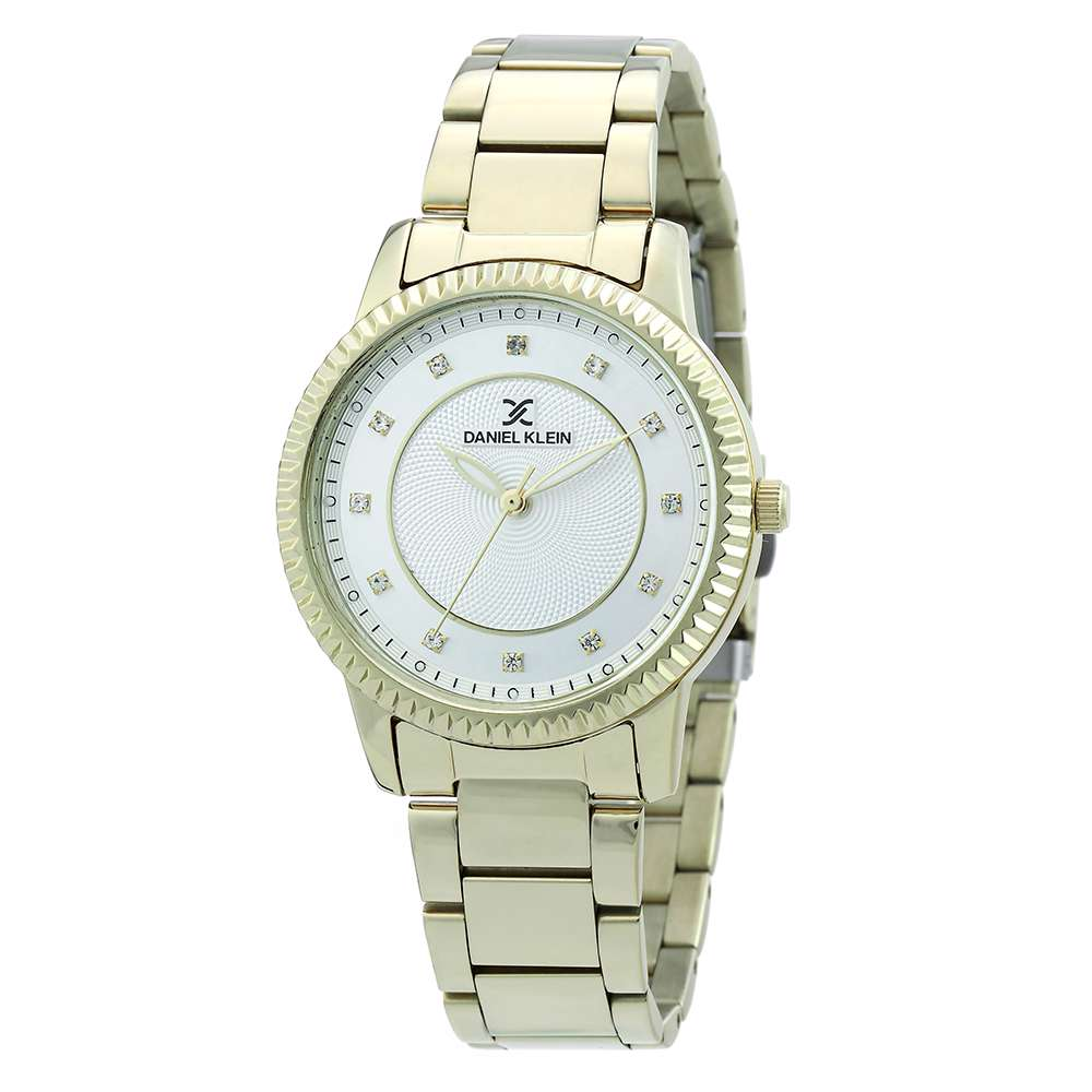 Stainless Steel Womens''s Gold Watch - DK.1.12262-1