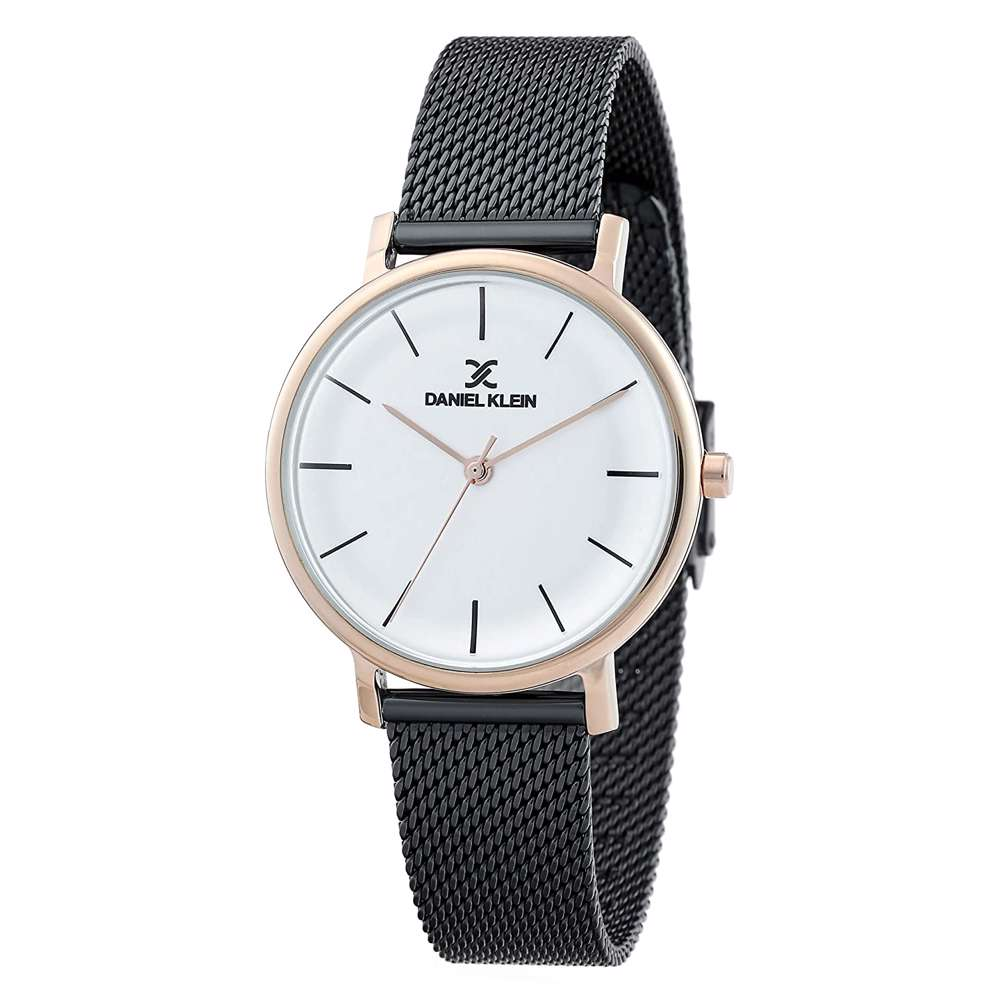 Mesh Band Womens''s Black Watch - DK.1.12263-5