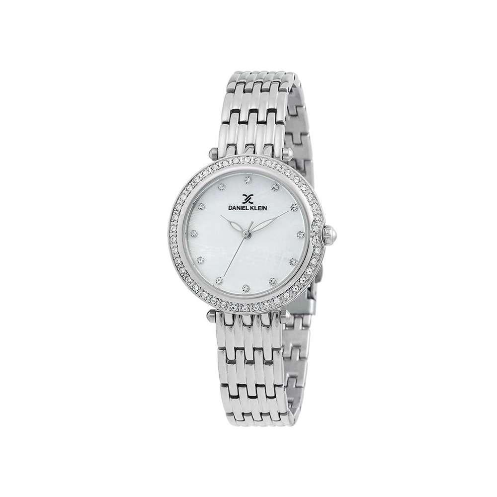 Stainless Steel Womens''s Silver Watch - DK.1.12264-1
