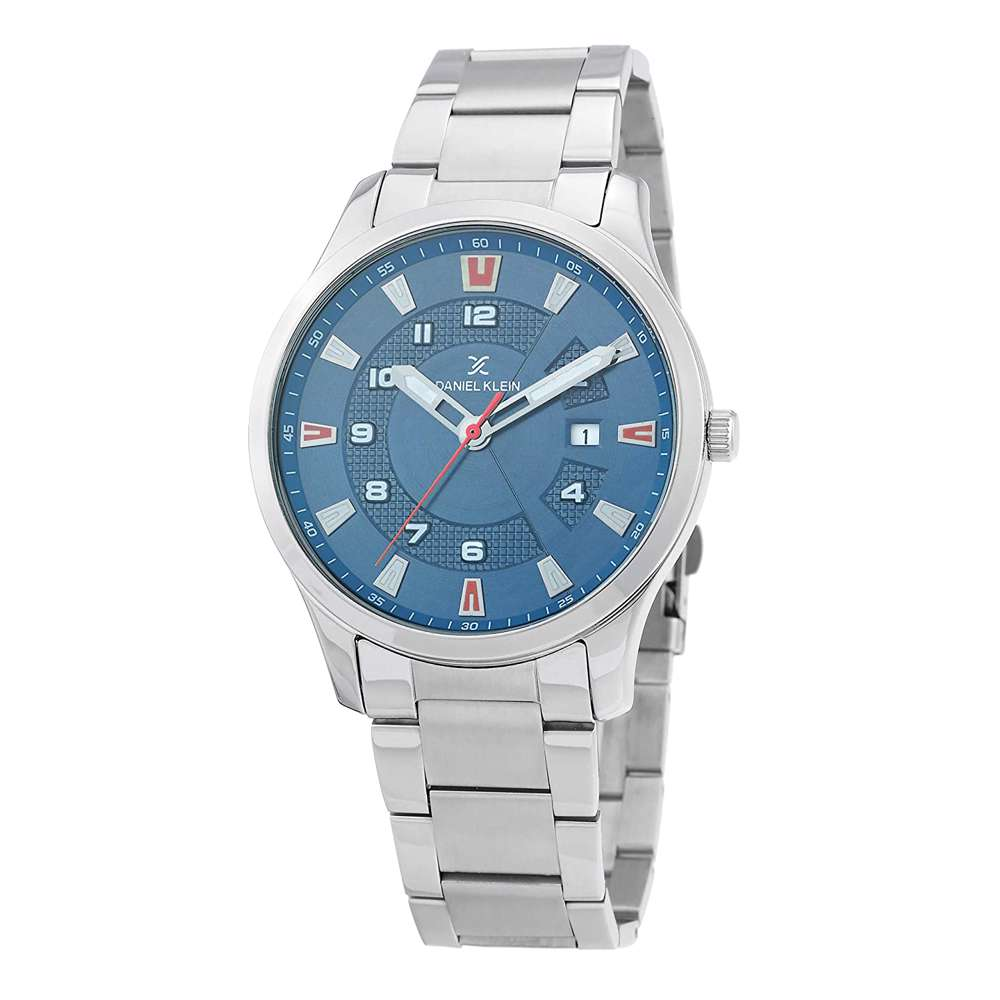 Stainless Steel Mens''s Silver Watch - DK.1.12265-3