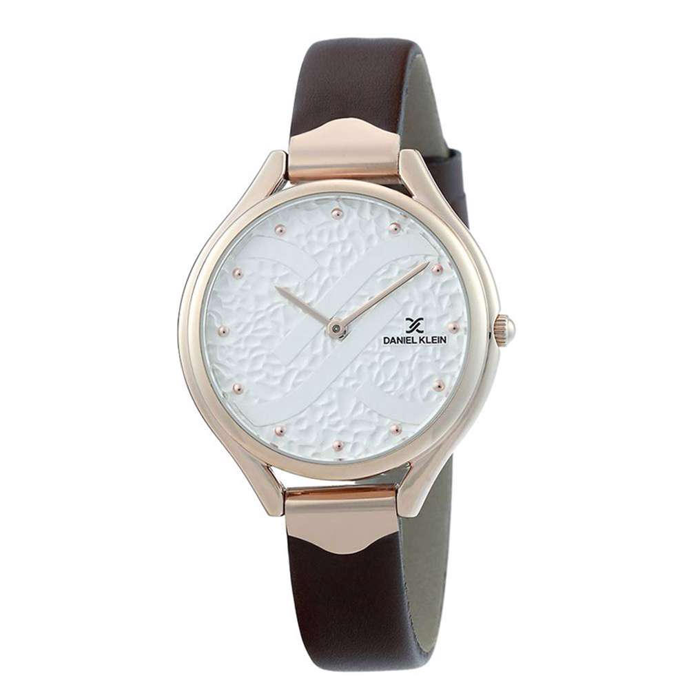 Leather Womens''s Brown Watch - DK.1.12268-5