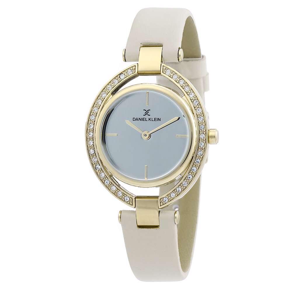 Leather Womens''s Beige Watch - DK.1.12269-3